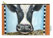 Moo Cow In Orange Carry-all Pouch