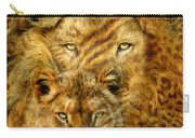 Moods Of Africa - Lions 2 Carry-all Pouch