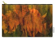 Moods Of Africa - Rhinos Carry-all Pouch