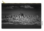 Moody Black And White Photo Of San Francisco California Carry-all Pouch