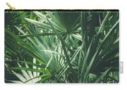 Moody Tropical Leaves Carry-all Pouch