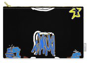 Moon And Beach Watcher On Martha's Vineyard Carry-all Pouch
