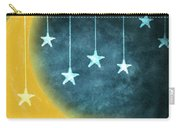 Moon And Stars Carry-all Pouch by Setsiri Silapasuwanchai