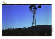 Moon And Windmill Carry-all Pouch