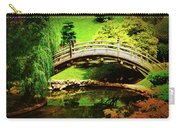 Moon Bridge At Huntington Carry-all Pouch