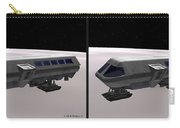 Moon Bus - Gently Cross Your Eyes And Focus On The Middle Image Carry-all Pouch