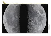 Moon Composite, First And Last Quarter Carry-all Pouch