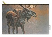 Moon Dusted Moose Carry-all Pouch