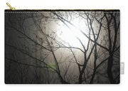 Moon Halo In Winter Carry-all Pouch