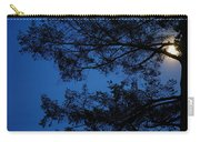 Moon Hiding In The Tree Carry-all Pouch