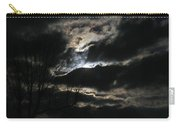 Moon In The Clouds Over Kentucky Lake Carry-all Pouch