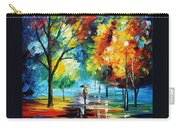 Moon Light Through The Rain Carry-all Pouch