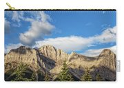 Moon Over Canmore Alberta Carry-all Pouch