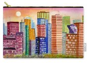 Moon Over Edmonton Carry-all Pouch