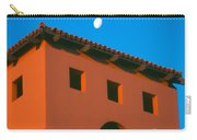 Moon Over Red Adobe Horizontal Carry-all Pouch
