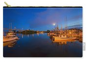 Moon Over Sitka Marina Carry-all Pouch by Mike  Dawson