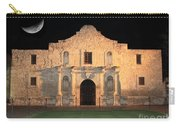 Moon Over The Alamo Carry-all Pouch by Carol Groenen