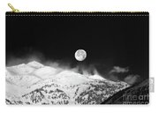 Moon Over The Alps Carry-all Pouch