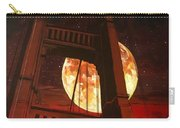 Moon Over The Bridge  Carry-all Pouch by Joel Tesch