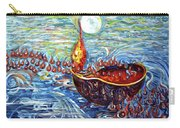 Moon Over The Ocean Carry-all Pouch