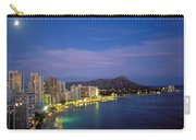 Moon Over Waikiki Carry-all Pouch