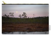 Moon Over Wetlands Carry-all Pouch