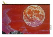 Moon Over Yosemite Carry-all Pouch by Joel Tesch