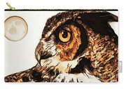Moon Owl Carry-all Pouch