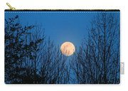 Moon Rising In The Trees Carry-all Pouch