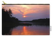 Moon River Silhouette Carry-all Pouch