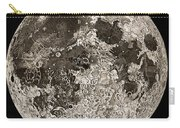 Moon Surface By John Russell Carry-all Pouch