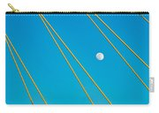 Moon Through The Wires Carry-all Pouch