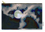 Moon Walk By The Clouds Carry-all Pouch