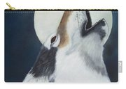 Moon Wolf Carry-all Pouch