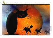 Mooncat's Catwalk Carry-all Pouch by Issabild -