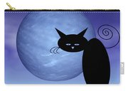 Mooncat's Loneliness Carry-all Pouch by Issabild -