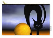 Mooncat's Play With The Fullmoon Carry-all Pouch by Issabild -