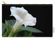 Moonflower - Rain Drops Carry-all Pouch