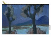 Moonlight And Joshua Tree Carry-all Pouch