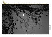 Moonlight - B And W Carry-all Pouch