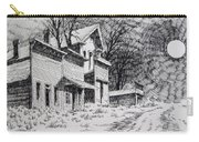 Moonlight Bannack Ghost Town Montana Carry-all Pouch