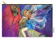 Moonlight Fairy And Her Horned Horse Carry-all Pouch