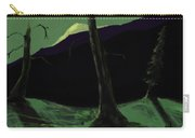 Moonlight In The Rockies Carry-all Pouch