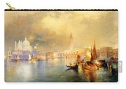 Moonlight In Venice Carry-all Pouch