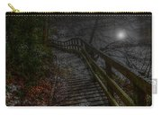 Moonlight On The River Bank Carry-all Pouch