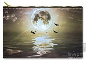 Moonlight On Water Carry-all Pouch