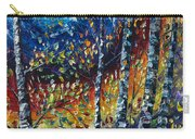 Moonlight Sonata Palette Knife  Carry-all Pouch