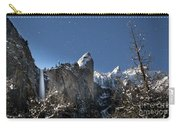 Moonlit Bridalveil  Falls-yosemite Valley Carry-all Pouch