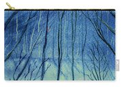 Moonlit In Blue Carry-all Pouch