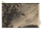 Moonlit Landscape With Tree At The Left Carry-all Pouch